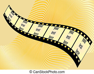 Film tape background