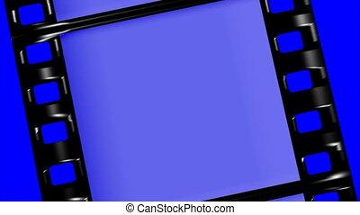 film tape loop chroma key - loopable film tape on chroma key...