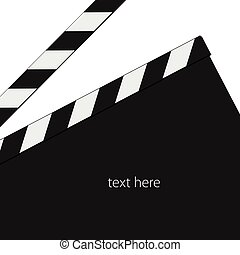 film tape signl black vector
