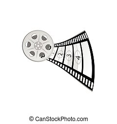 film tape vector illustration part two