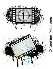 film, tema, elemento