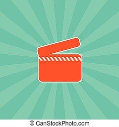 film, tema, icona