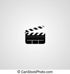 film, tema, logotype
