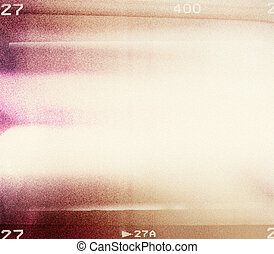 Blank grained film strip texture