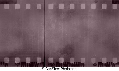 Film texture light pale hue loop - Grunge dirty film texture...