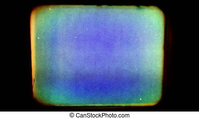 A collection of old film effects composited over each other, including film flickers, light leaks, dust and scratches, film perforations, and film strip slips. Includes film projector audio. Please see my large collection of film textures and effects for more clips like this.