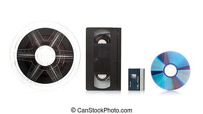 Film Transfer Service - Film transfer service concept on...