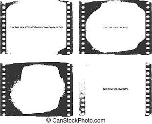 Film. Vector background. Eps8