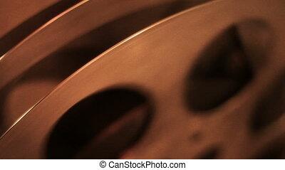film, vieux, projecteur