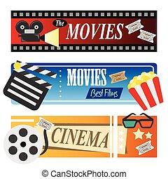 filme, bandeiras