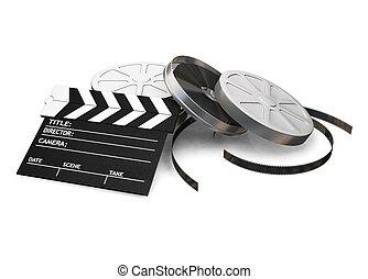 filme, itens