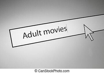 filmes, adulto