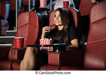 films, femme, jeune