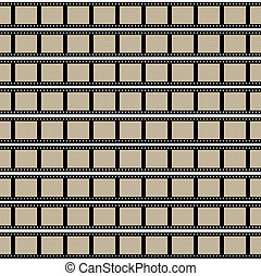 Films Strips - Film strips background design with lots of ...