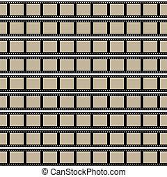 Films Strips Vector