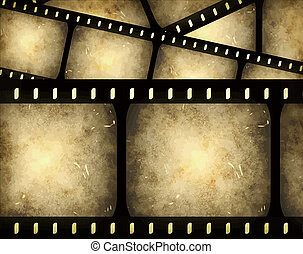 filmstrip, 抽象的