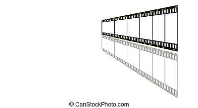 filmstrip, achtergrond