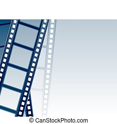Filmstrip Background. Vector illustration. EPS 8, AI, JPEG