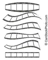 filmstrip, banner