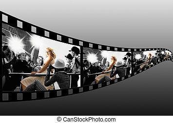 filmstrip, collage