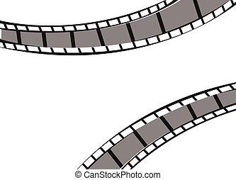 Filmstrip frame background
