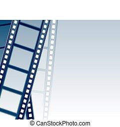 filmstrip, plano de fondo