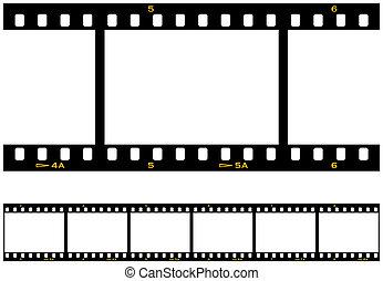 filmstrip, repeterande, searmless