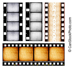 filmstrip - Close up of film strips