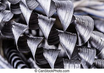filo metallo, isolato