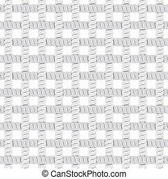 filo, pattern., seamless, illustrazione, corda, vettore, o