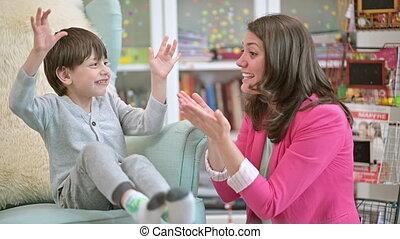 fils, prévention, mère, sanitaire, enseignement, mesures