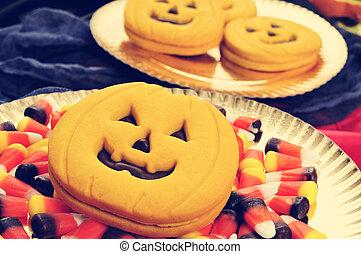filtrado, halloween, alimento