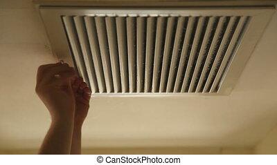 filtre, ouverture, couverture, condition, air