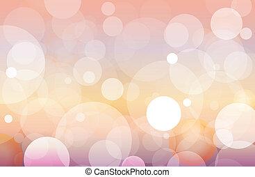 filtro, abstratos, círculo, fundo