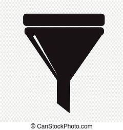 filtro, icono