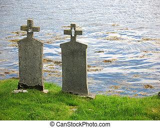 fim, amor, -, até que, sepulturas, verdadeiro