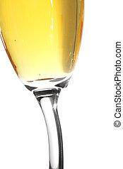 fim, champanhe, cima