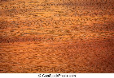 fim, mogno, madeira, cima, textura