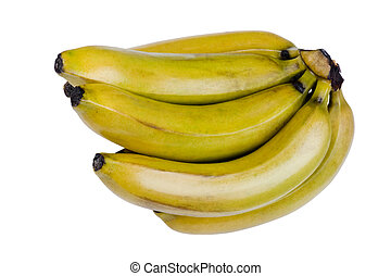 fin, banane, haut