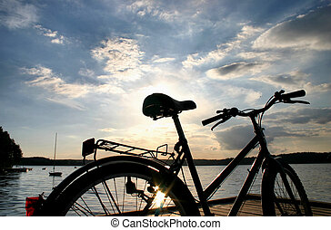 fin, de, a, vélo, voyage, #