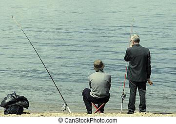 fin de semana, pesca