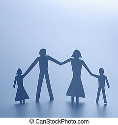 fin, famille