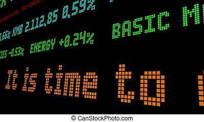 fin, monopole, il, temps, mondiale, amérique, ticker, banque, stockage