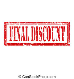 Final Discount-stamp