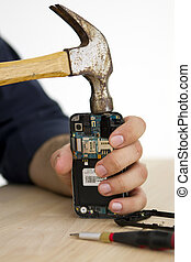 Final Fix applied to smart phone