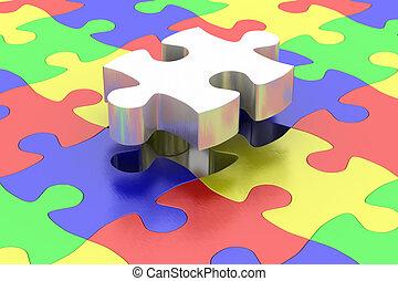 Final jigsaw piece