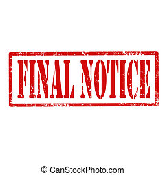 Final Notice-stamp
