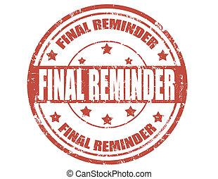 final, reminder-stamp