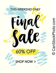 Final Sale mobile banner template