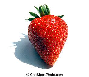Final Strawberry - Single Strawberry with narrow DOF and ...